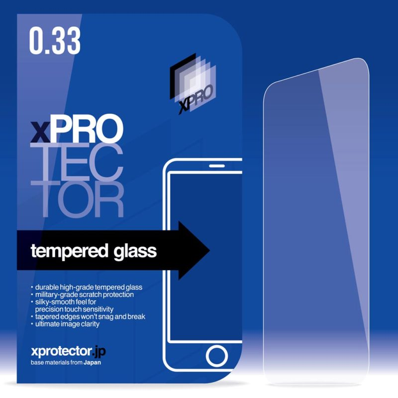 Xprotector üvegfólia 0,33 mm back
