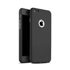 iPaky 360°-os fekete Apple iPhone 6 tok