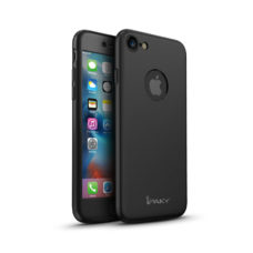 iPaky 360°-os fekete Apple iPhone 7 tok