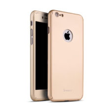 iPaky 360°-os rózsaarany Apple iPhone 6 tok