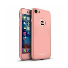 iPaky 360°-os rózsaarany Apple iPhone 7 tok
