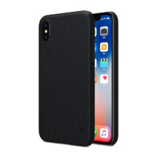 Nillkin Super Frosted Apple iPhone X fekete PC tok 2