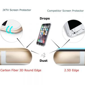 2.5D vs Carbon 3D üvegfólia leejtés