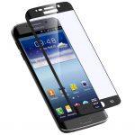 3D üvegfólia fekete színű kerettel Samsung Galaxy S6 Edge
