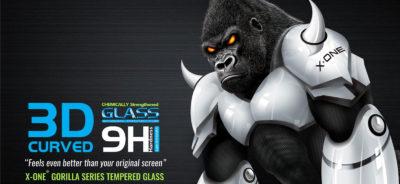 X-One 3D üvegfólia promóció
