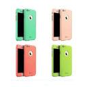 3f2e896f69 Apple iPhone 6 iPaky 360°-os kameravédős macaron piros TPU tok + 0 ...