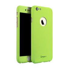 iPaky 360°-os macaron zöld Apple iPhone 6 tok