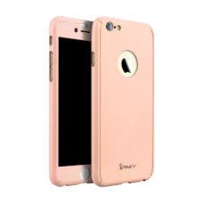 iPaky 360°-os macaron rózsaszín Apple iPhone 6 tok