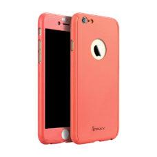 iPaky 360°-os macaron piros Apple iPhone 6 tok