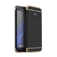 Samsung S7 Edge fekete TPU tok