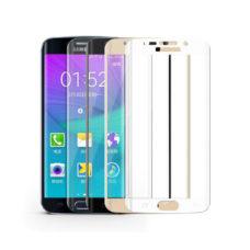Samsung S7 3D üvegfóliák színes kerettel
