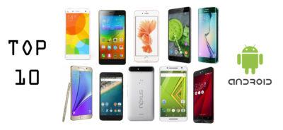 Top 10 androidos okostelefon