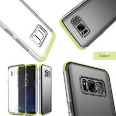 Baseus Samsung Galaxy S8 armor tok zöld kerettel 1