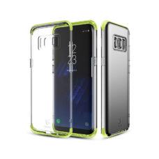 Baseus Samsung Galaxy S8 armor tok zöld kerettel