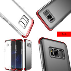 Baseus Samsung Galaxy S8 armor tok piros kerettel 1