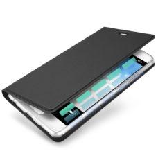 Dux Ducis Huawei P10 fekete flip tok 2