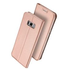Dux Ducis Samsung Galaxy S8 rózsaarany flip tok 1
