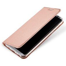 Dux Ducis Samsung Galaxy S8 rózsaarany flip tok 2