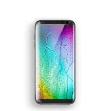 Samsung Galaxy S8 3D átlátszó üvegfólia