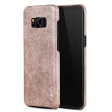 Samsung Galaxy S8 X-Level Vintage rózsaarany bőrtok 2