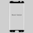Samsung S7 Edge tok kompatibilis fekete üvegfólia 1