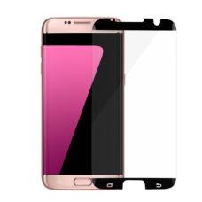 Samsung S7 Edge tok kompatibilis fekete üvegfólia 2