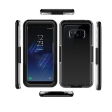 Samsung Galaxy S8 fekete vízálló tok 2