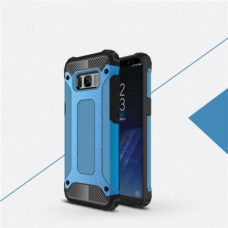 Samsung Galaxy S8 kék hibrid tok