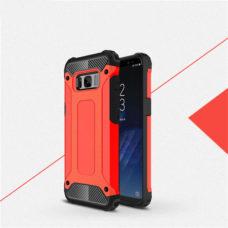 Samsung Galaxy S8 piros hibrid tok