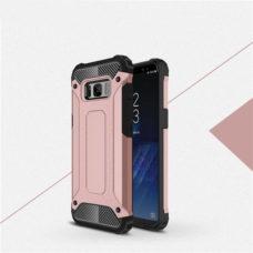 Samsung Galaxy S8 rózsaarany hibrid tok