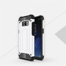 Samsung Galaxy S8 fehér hibrid tok