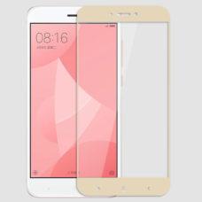 Topk Xiaomi Redmi 4X arany 2.5D üvegfólia
