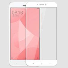 Topk Xiaomi Redmi 4X fehér 2.5D üvegfólia