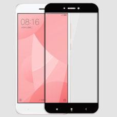Topk Xiaomi Redmi 4X fekete 2.5D üvegfólia