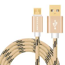 Voxlink micro usb kábel arany