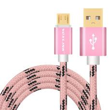 Voxlink micro usb kábel rózsaarany