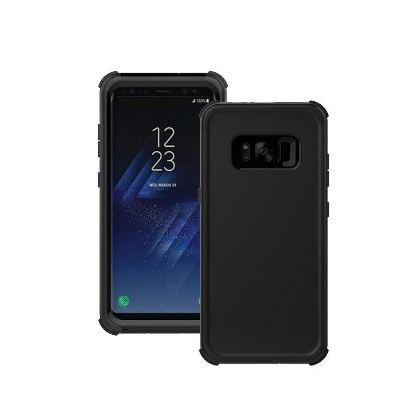 Samsung Galaxy S8 fekete vízálló tok gombokkal 1