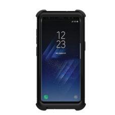 Samsung Galaxy S8 fekete vízálló tok gombokkal 2
