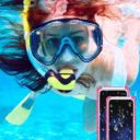 Samsung Galaxy S8 fekete vízálló tok gombokkal 5