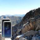 Samsung Galaxy S8 fekete vízálló tok gombokkal 7