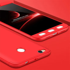 Floveme Xiaomi Redmi 4X 360°-os piros PC tok