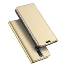 Dux Ducis Huawei Mate 10 Lite arany flip tok 1