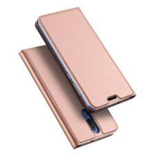 Dux Ducis Huawei Mate 10 Lite rózsaarany flip tok 1