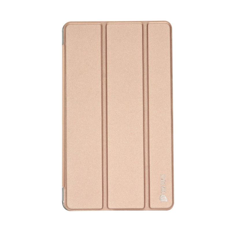 """Dux Ducis Huawei MediaPad M3 (8.4"""") rózsaarany bőrtok 1"""