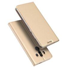 Dux Ducis Huawei Mate 10 Pro arany flip tok 1