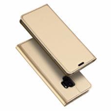 Dux Ducis Samsung Galaxy S9 arany flip tok 1
