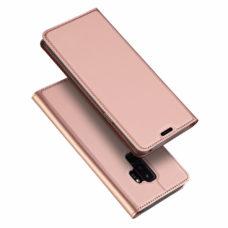Dux Ducis Samsung Galaxy S9+ rózsaarany flip tok 1