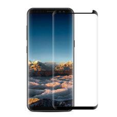 Samsung Galaxy S9 tok kompatibilis 3D fekete üvegfólia 1