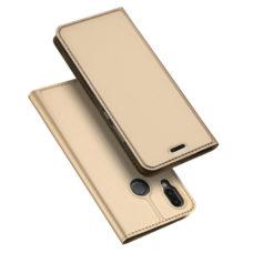 Dux Ducis Huawei P20 Lite arany flip tok 1