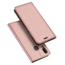 Dux Ducis Huawei P20 Lite rózsaarany flip tok 1